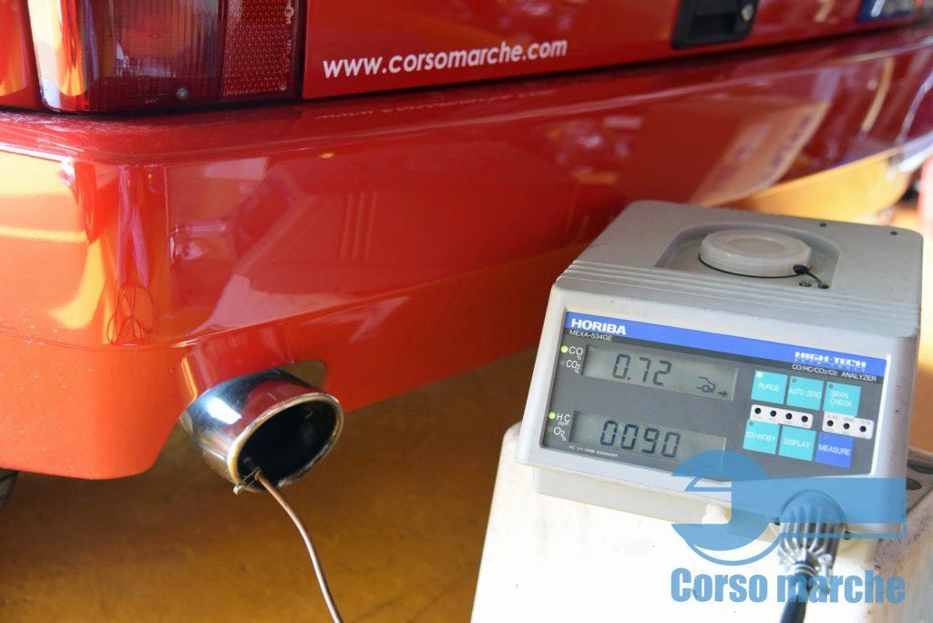 排ガスのCO/HC濃度改善