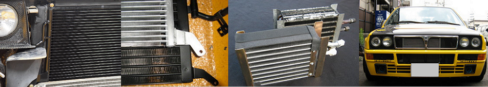 夏でも乗れるデルタの必需品エアコンコンデンサーとエバポレーター